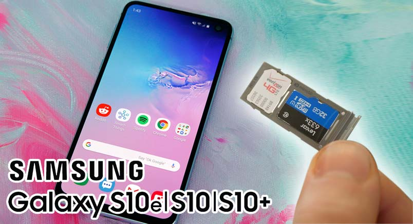 change default camera storage on galaxy s10