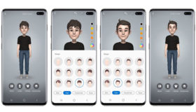 use ar emoji on galaxy s10