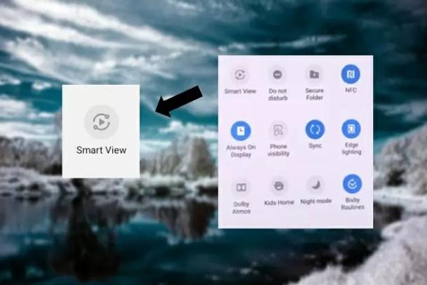 Samsung Galaxy S10 Screen Mirroring