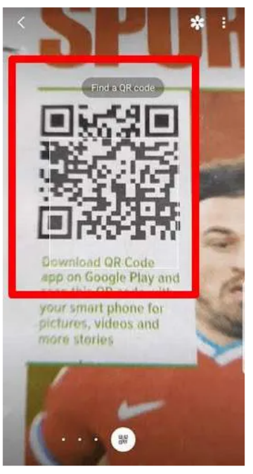 how to scan qr code samsung